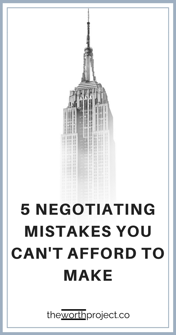 negotiating salary for new job