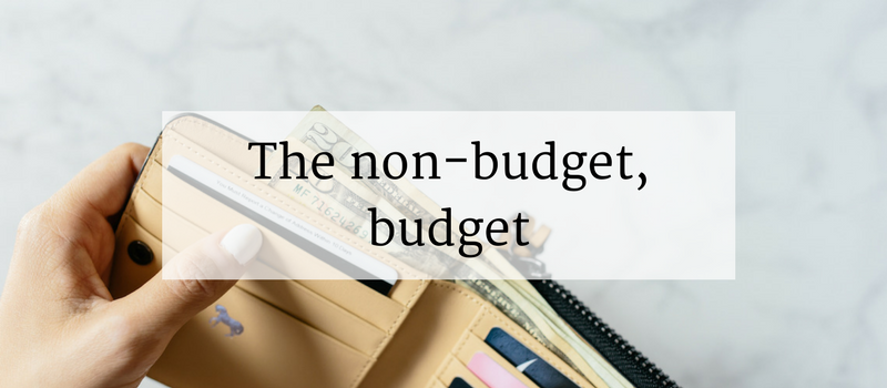 A Budget For People Who Hate Budgeting