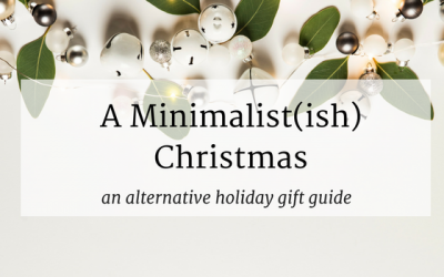An Alternative Holiday Gift Guide