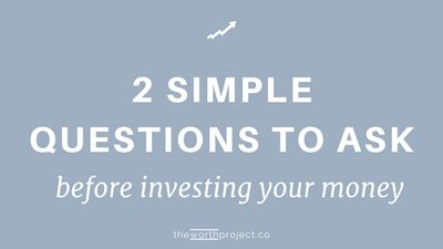 Investing for Beginners: 2 Questions To Ask