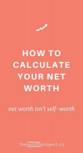 net worth financial health