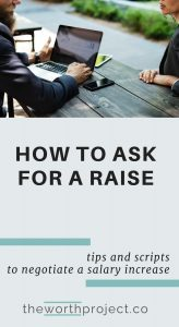 asking for a raise