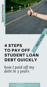 how to pay off student loan