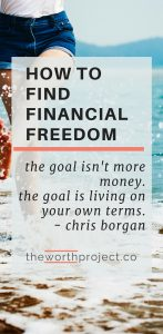 financial freedom plan