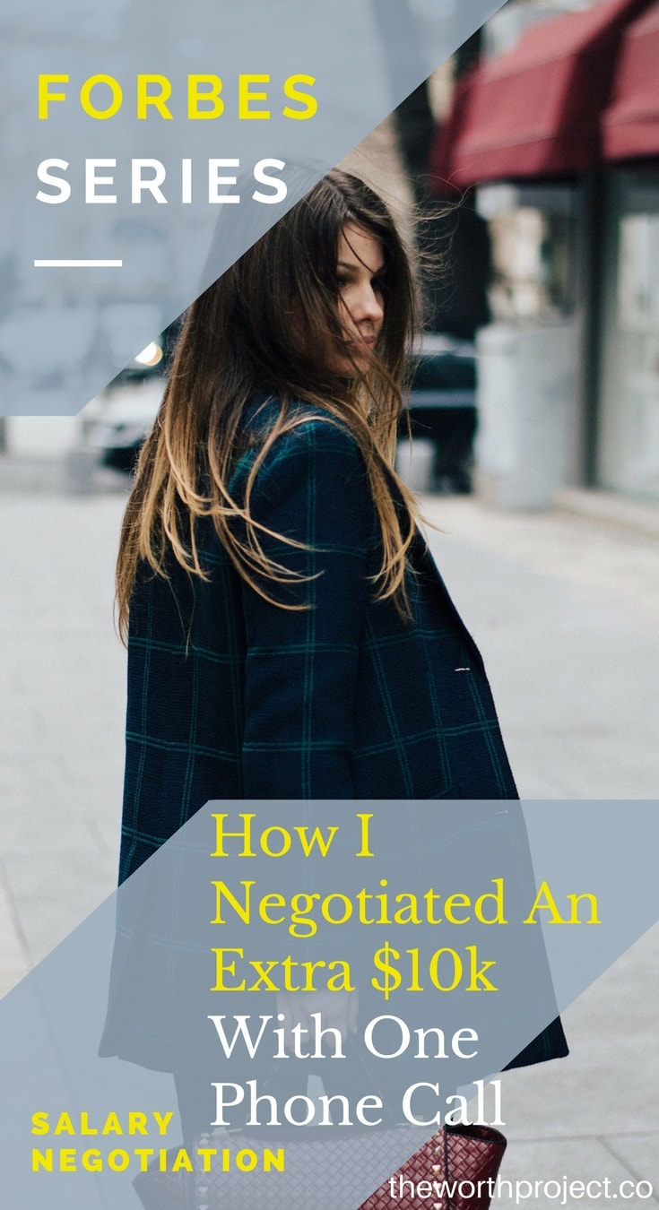 how to negotiate salary over the phone