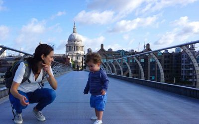 Exploring London with a Toddler